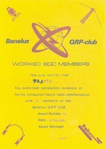 BQC AWARD